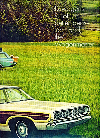 1967= Ford Station Wagons - Ad