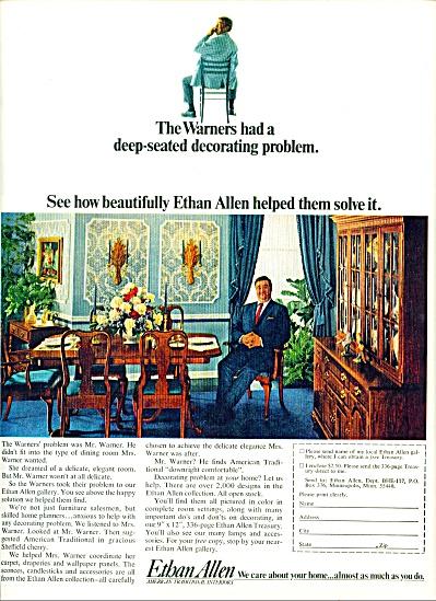 1967 -  Ethan Allen furniture ad (Image1)