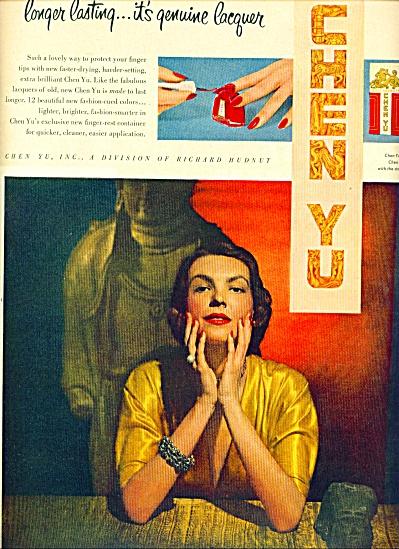 1942 - Chen Yu lacquer ad (Image1)