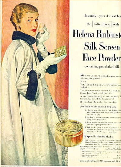 1942 -  Helena Rubinstein face powder ad (Image1)