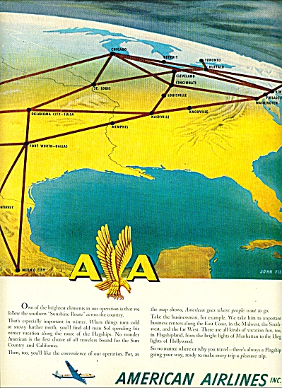 1942 - American Airlines Inc., ad (Image1)