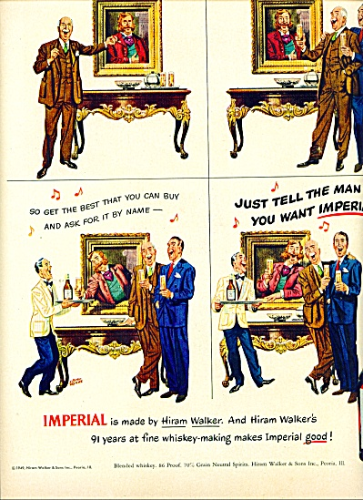 1942 -  Imperial blended whiskey ad (Image1)