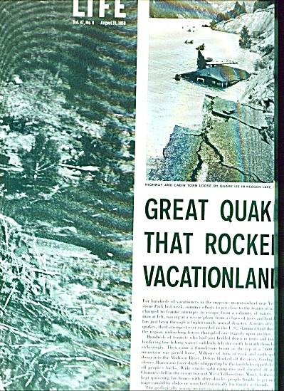 1959 -  Great quake that rocked vacationland (Image1)
