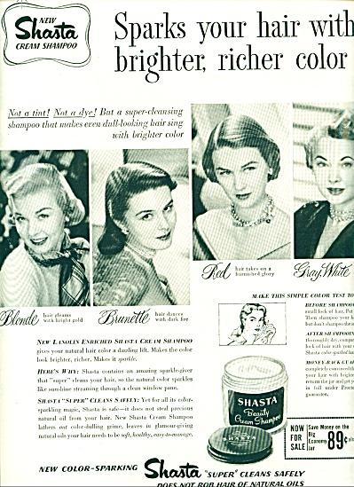 1951 - Shasta beauty cream shampoo ad (Image1)