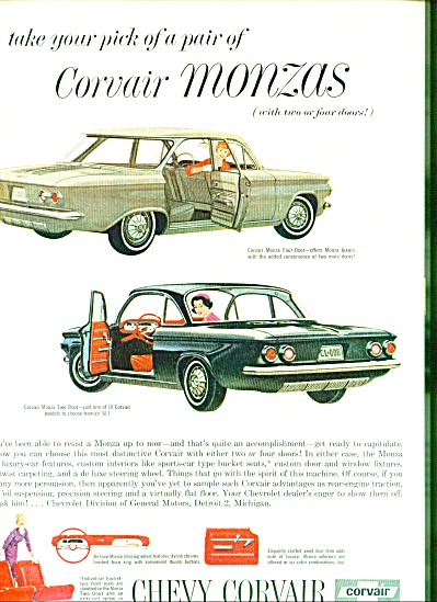 1961 -  Chevrolet Corvair ad (Image1)