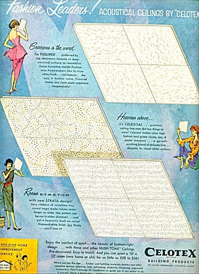 1961 -  Celotex building products ad (Image1)