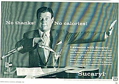 1961 -  Sucaryl - ARTHUR GODFREY (Image1)