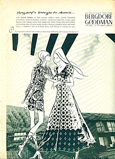 1971 -  Bergdorf Goodman of New York ads (Image1)