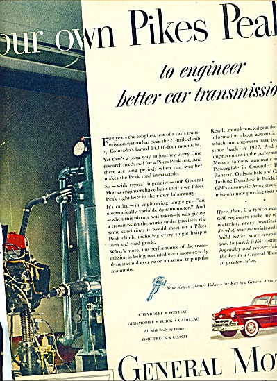 1953 -  General Motors auto ad (Image1)