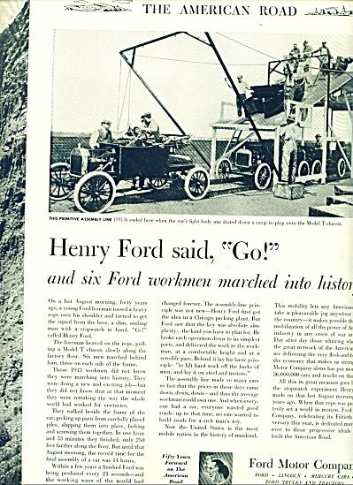1953 -  Ford Motor company ad (Image1)