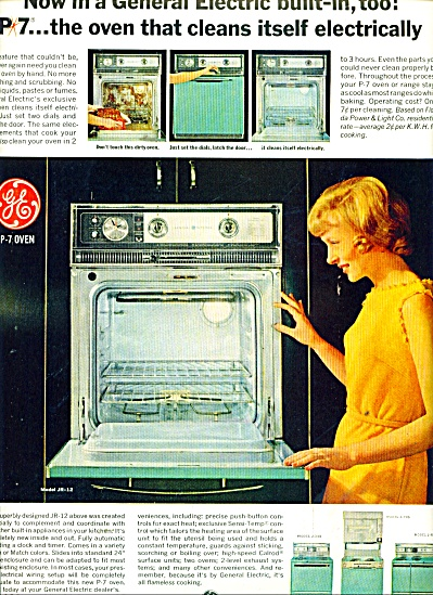 General Electric appliances ad 1965 (Image1)