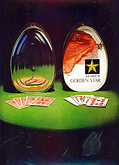 Armour Gold Star ham  ad 1965 (Image1)