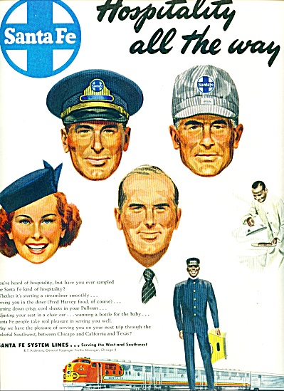 `1949 -  Santa Fe system lines ad (Image1)