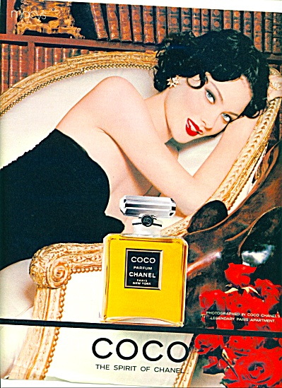 1996 - Coco - The Spirit Of Chanel Ad