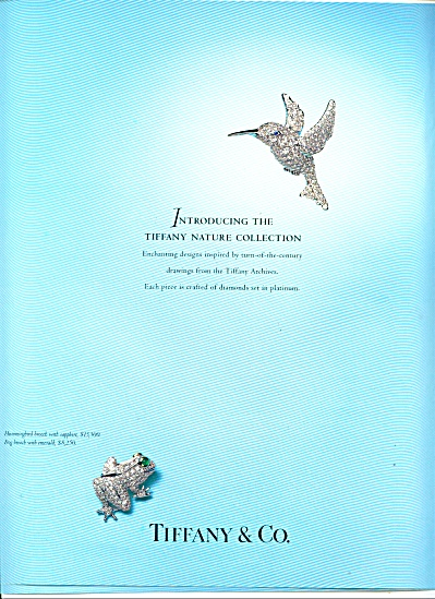 1996 -  Tiffany & company nature collection (Image1)