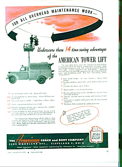 American Tower Lift ad 1946 (Image1)