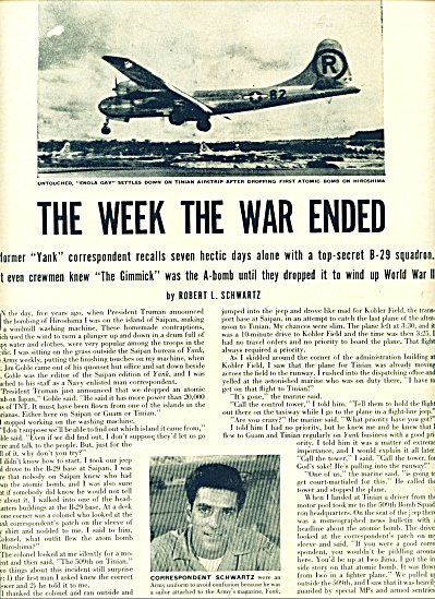1950 - The week the war ended (Image1)