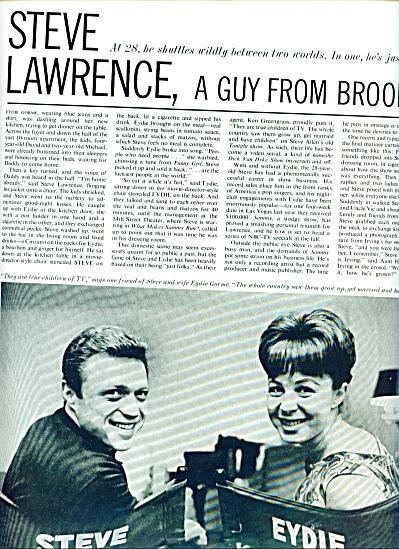 1964 - STEVE LAWRENCE - EYDIE GORME (Image1)