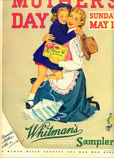 1952 =  Whitman's Sampler ad (Image1)