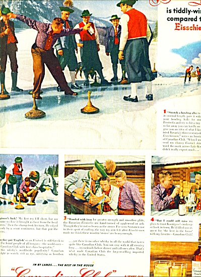 1952 -  Canadian club whisky ad (Image1)