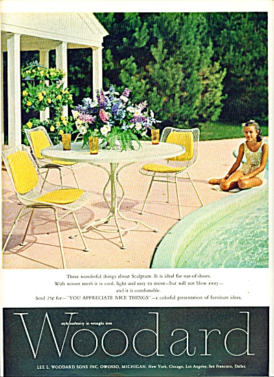 1967 Woodard Furniture Ad