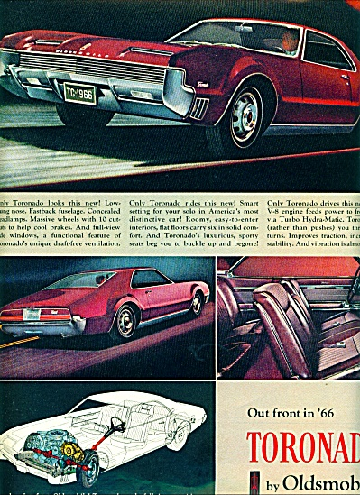1965 - Toronado Oldsmobile For 1966
