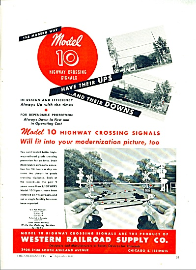 Western Railroad supply co. ad 1946 (Image1)