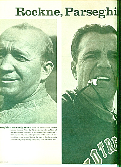 1965 - Ara Parseghian and Notre Dame (Image1)