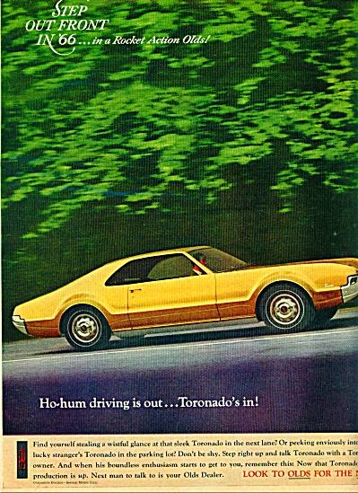 1966 -  Oldsmobile Toronado ad (Image1)