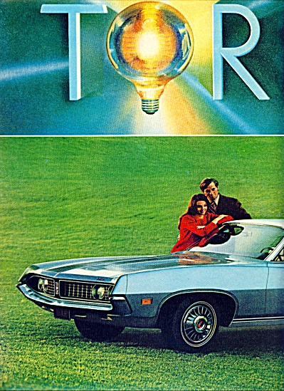1970 - Ford Torino Auto Ad For 1971