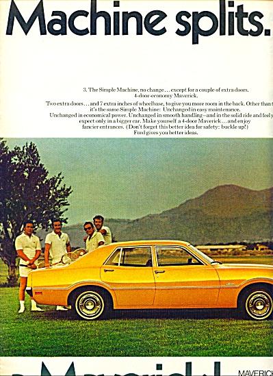1970 -  Ford Maverick ad (Image1)
