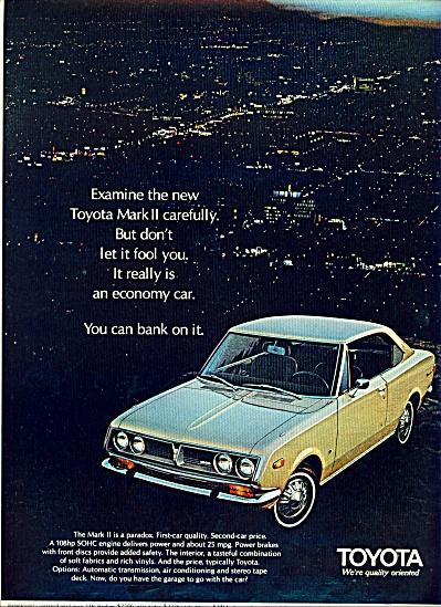 1970 -  Toyota Mark II ad (Image1)