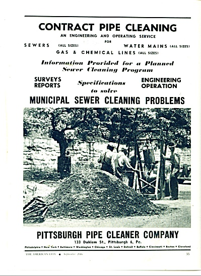 Pittsburgh Pipe cleaner company ad 1946 (Image1)