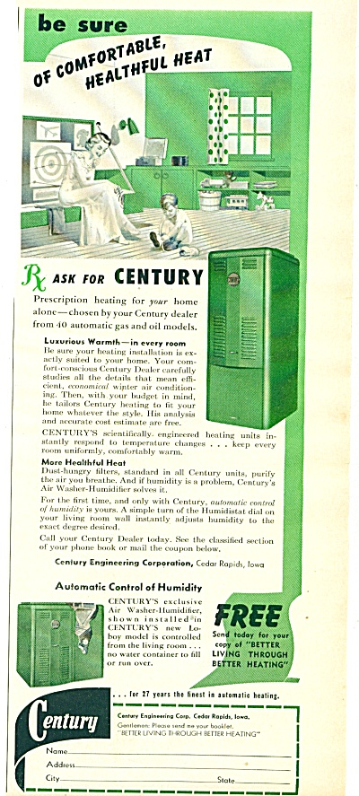 1953 -  Century automatic heating ad (Image1)