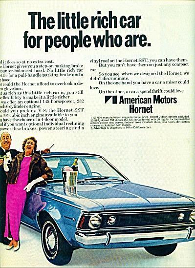 1970 -  American Motors Hornet ad (Image1)