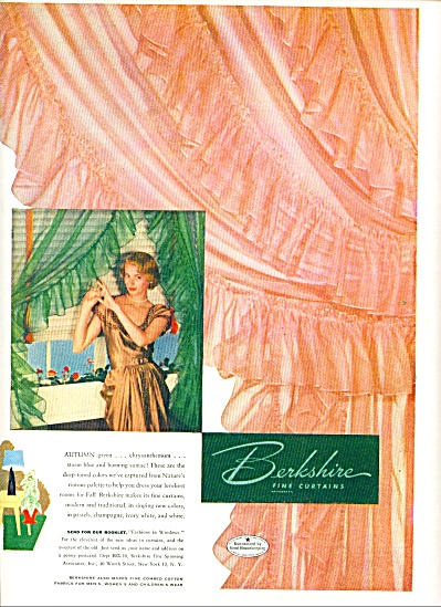 1948 - Berkshire fine curtains ad (Image1)