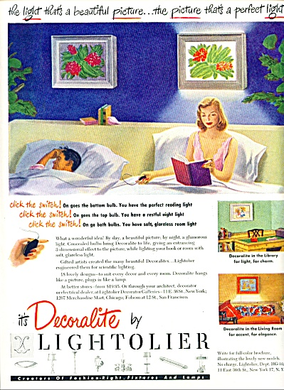 1948 -  Decoralite by Lightolier ad (Image1)