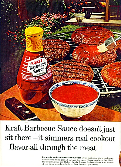 Kraft barbecue sauce ad 1965 (Image1)