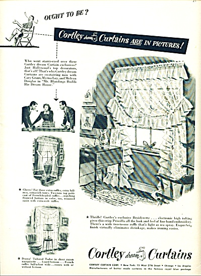 1948 -  Coley dream curtains ad (Image1)