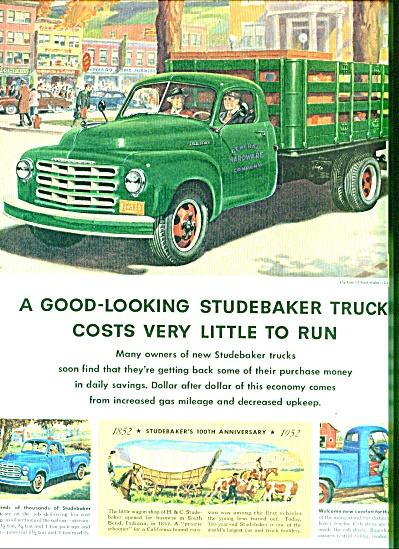 1952 - Studebaker truck ad (Image1)