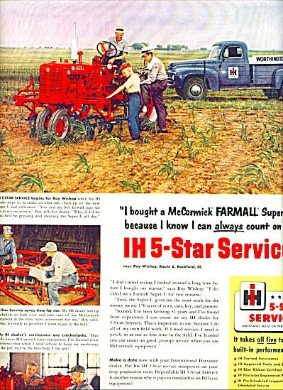 1952 - International Harvester ad (Image1)