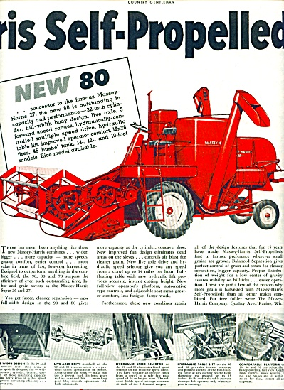 1952 -  Massey Harris vehicles ad (Image1)