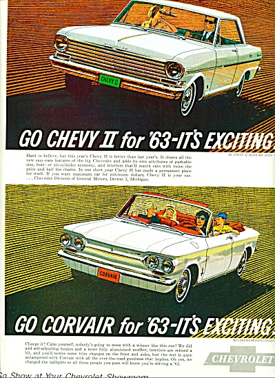 1962 -  Chevrolet Corvair for 1963 (Image1)