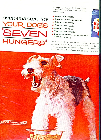 1962 Ken-L Biskit dog food ad (Image1)