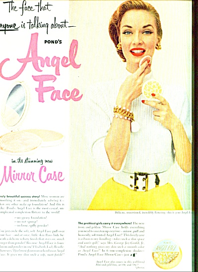 1952 -  Angel Face by Pond ad (Image1)