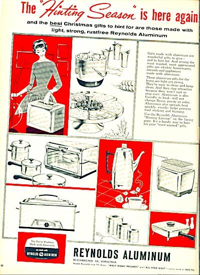 1958 -  Reynolds Aluminum ad (Image1)
