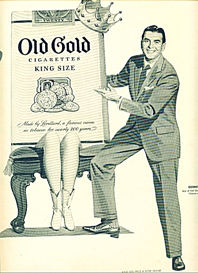 1953- Old gold Cigarettes - DENNIS JAMES (Image1)