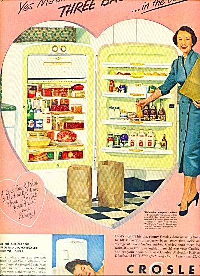 1953 - Crosley Shelvador refrigerator ad (Image1)