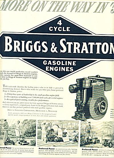 1953 -  Briggs & Stratton gasoline engines (Image1)