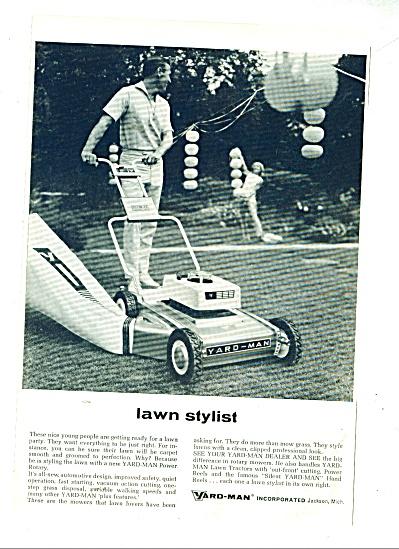 Yardman lawn mower ad 1965 (Image1)
